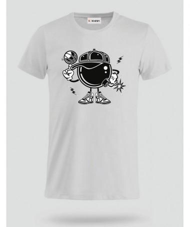 BasketballBombers T-shirt Basic Uomo