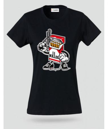 CigaretteKiller T-shirt Basic Donna