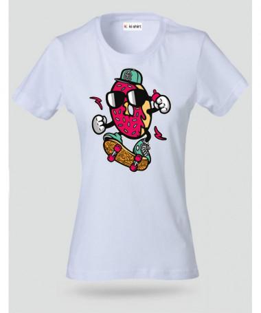 DonutSkater T-shirt Basic Donna