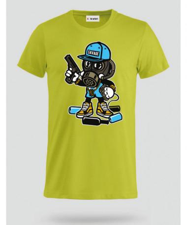 savage T-shirt Basic Uomo