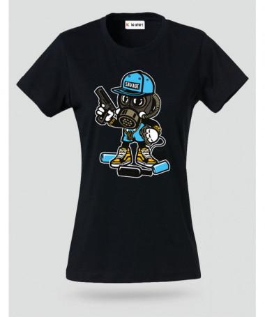 savage T-shirt Basic Donna