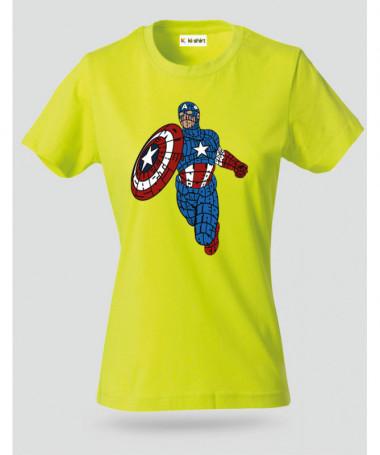 starandstripeshero T-shirt Basic Donna