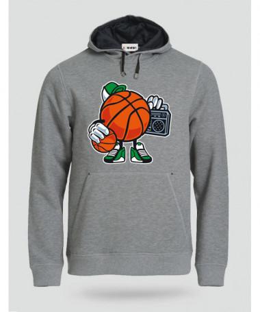 streetbasketball Felpa Premium con cappuccio Uomo