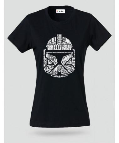 trooper T-shirt Basic Donna