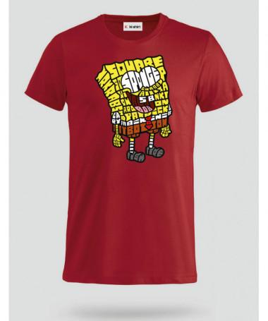 yellowsponge T-shirt Basic Uomo