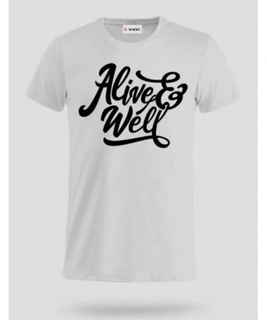 Alive & Well T-shirt Basic Uomo