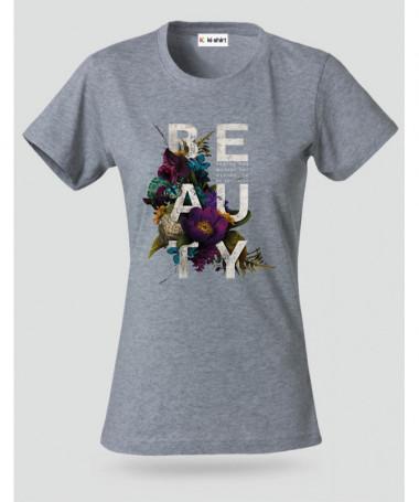 Beauty T-shirt Basic Donna