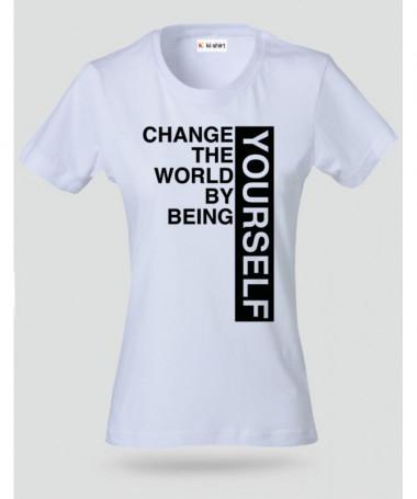 Change T-shirt Basic Donna