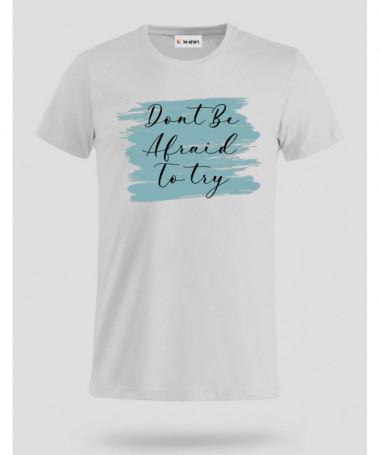 Dont Be Afraid Totry T-shirt Basic Uomo