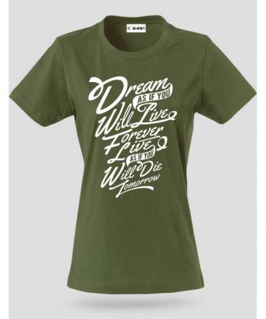 Dream T-shirt Basic Donna