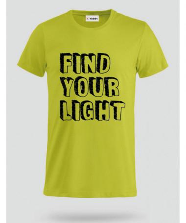 Find Your Light T-shirt Basic Uomo