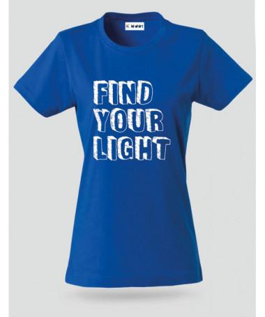 Find Your Light T-shirt Basic Donna