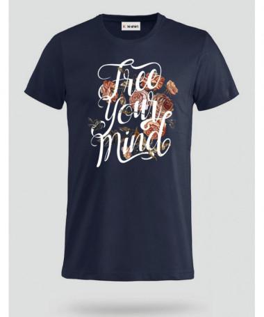 Free Your mind T-shirt Basic Uomo