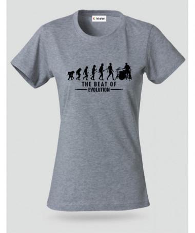 Evolution T-shirt Basic Donna