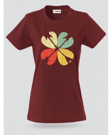Guitar clover T-shirt Basic Donna