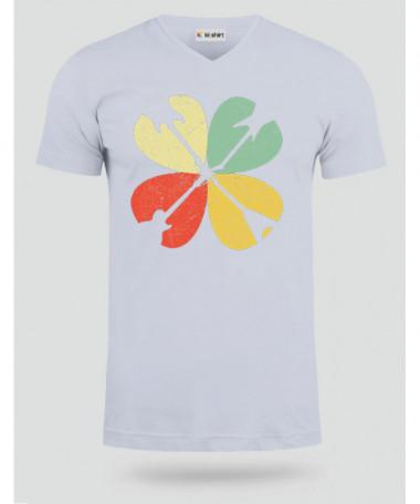 Guitar clover T-shirt Scollo V