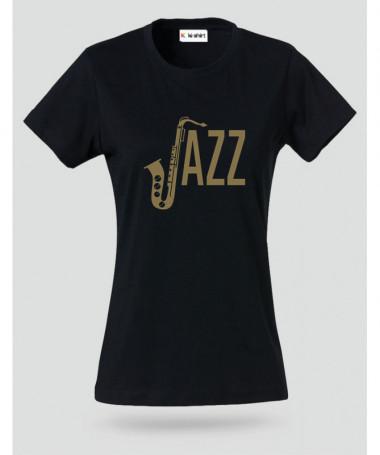 Jazz T-shirt Basic Donna