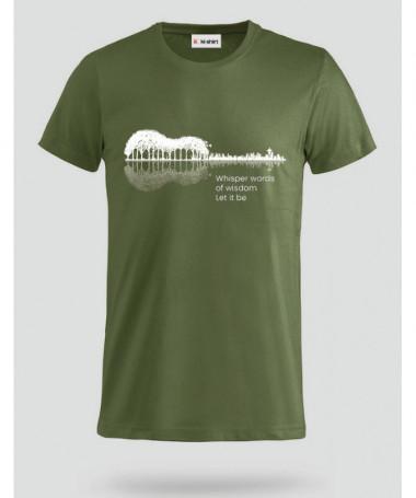 Let it be T-shirt Basic Uomo