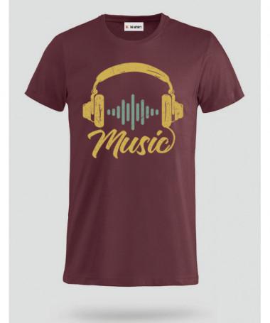 Musica T-shirt Basic Uomo