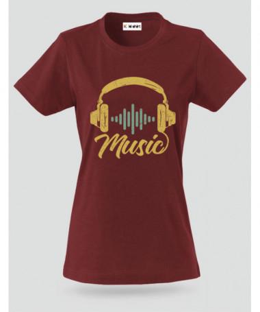 Musica T-shirt Basic Donna