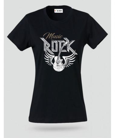Rock T-shirt Basic Donna
