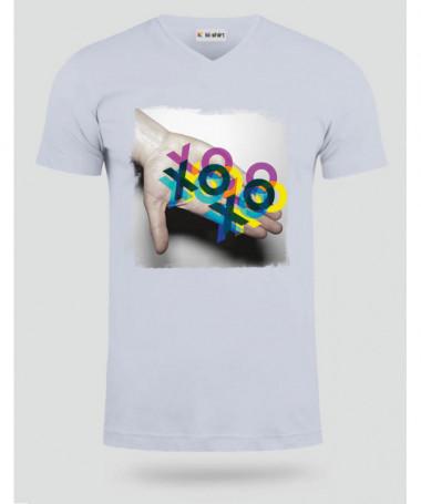 Baci Baci T-shirt Scollo V