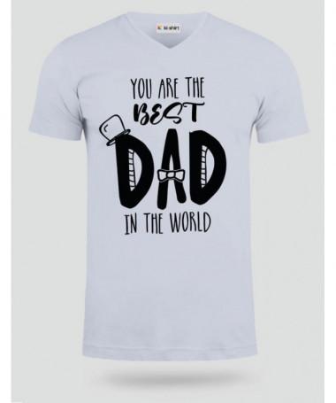 Best Dad T-shirt Scollo V