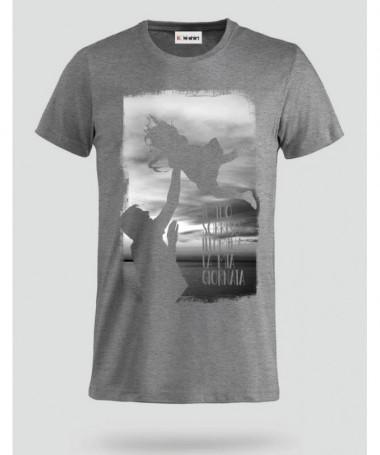Felicità T-shirt Basic Uomo
