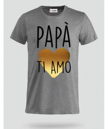 Papà ti amo T-shirt Basic Uomo