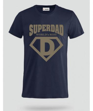 Super Dad T-shirt Basic Uomo