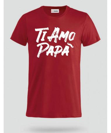 Ti amo T-shirt Basic Uomo