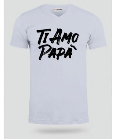 Ti amo T-shirt Scollo V