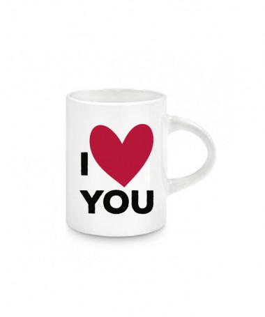 Tazzina espresso I love you