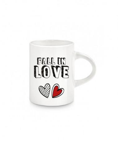 Tazzina espresso Fall in love