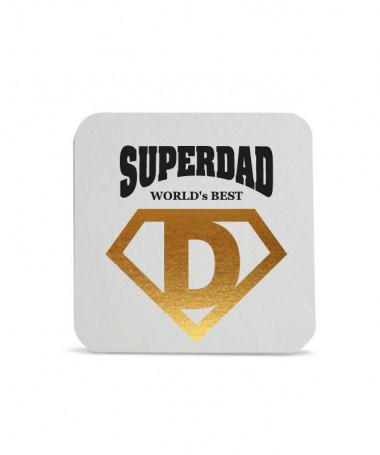 Sottobicchiere Super Dad