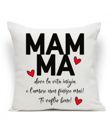 Cuscino Mamma amore infinito