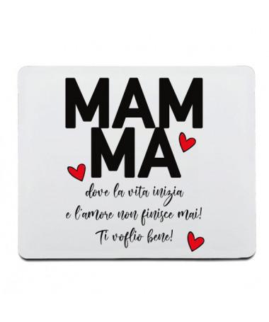 Mouse-pad Mamma amore infinito