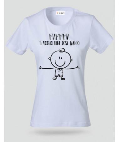 Un mondo di bene T-shirt Basic Donna