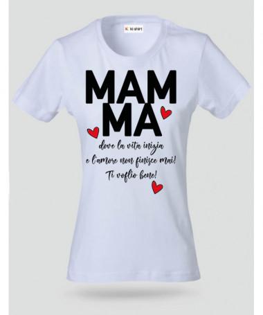 Definizione di Mamma T-shirt Basic Donna
