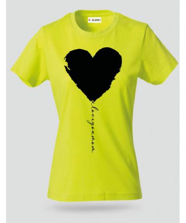 I Love you Mum T-shirt Basic Donna